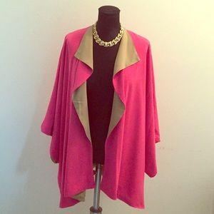Hutton Wilkinson Reversible Kimono Coat